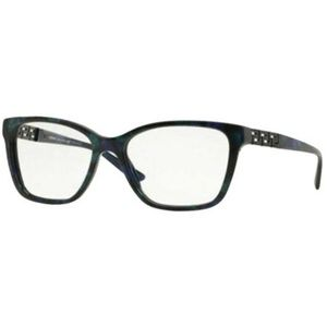 Versace Square Style Black/Green/Blue W/Demo Lens